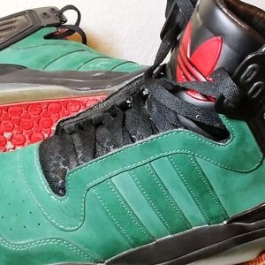 Adidas Tech Street Mid Dark Green/Black size 12